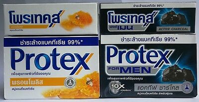 Protex Bar Soap Charcoal, Propolis Best Deep Clear Anti Bacterial Body Skin
