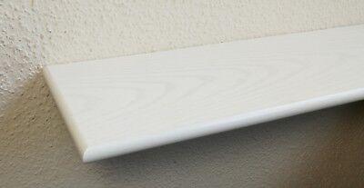 Regalboden Esche weiß lackiert 20mm dick Echtholzfurnier 8 Größen ML Board Brett 20 Boards