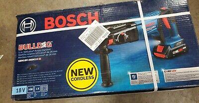Bosch Gbh18v-26dk15 18v Sds Plus 1 Rotary Hammer Kit 1 Battery Charger New