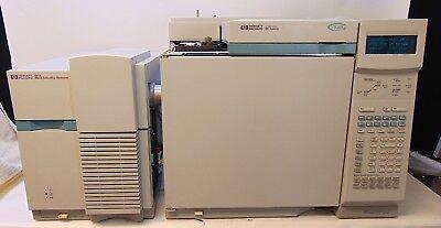 Agilent 6890 Plus Gas Chromatograph W5973 Msd Tested Working System Da51419x