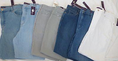 Sale     Ladies Gloria Vanderbilt  Amanda  Tapered Leg Jeans  Variety  Nwt