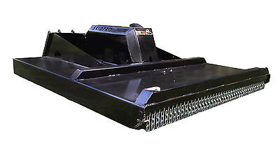 60 Heavy Duty 3-blade Brush Mower Skid Steer Loader Bobcat Jd Gehl Attachment