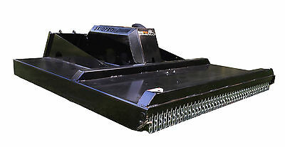 72 Heavy Duty 3-blade Brush Mower Skid Steer Loader Bobcat Jd Gehl Attachment