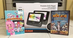 Portable DVD players and kids movies
