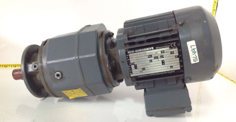 SEW-EURODRIVE .37KW S1-CONT 54IP ELECTRIC MOTOR RF43 DT71D4