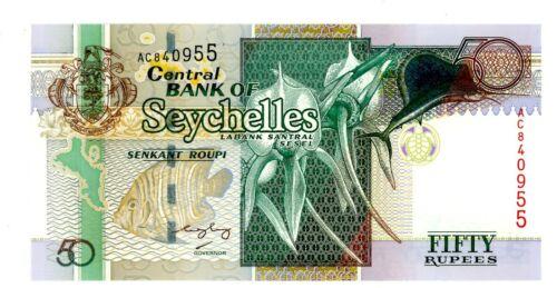 Seychelles … P-38 … 20 Rupees … ND(1988) … *UNC*.