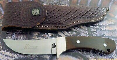 Case Kiowa Sheath Knife 1979 Issue R703 SSP Kiowa Blade Etch Used 1 2 Carry! NR