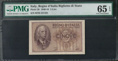 1940-44 Italy, Regno D