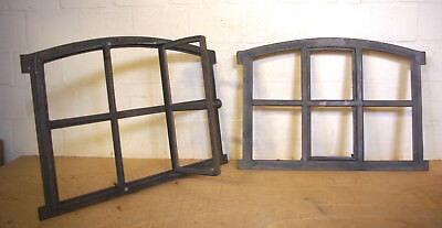 Neu Fenster mit Tür + Bogen  Gussfenster Stallfenster Gußfenster Neues Modell