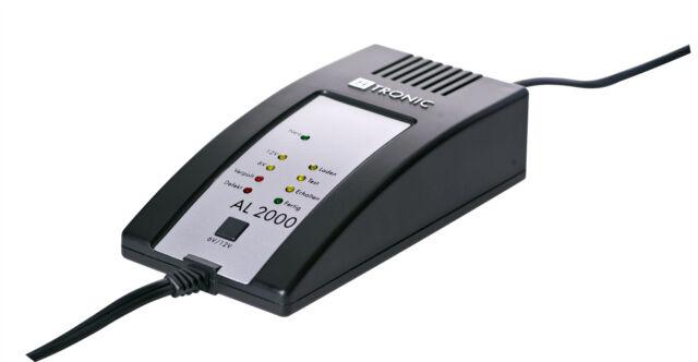 Ladegerät H-Tronic AL 2000 Vespa 300GTS Roller Li-Ionen Batterie perfekt laden!