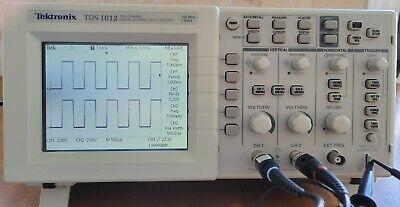 Tektronix Tds1012 Digital Oscilloscope 2 Channel 100mhz-1gss Tp6100 Probes
