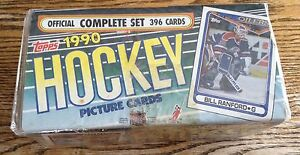 NEW TOPPS 1990 HOCKEY CARD SET/396 CARDS NHL