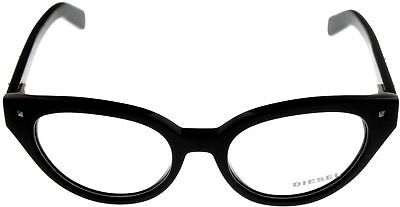 New Diesel Women Prescription Eyeglasses Frame Black Cat Eye DL5057 (Prescription Eyeglasses For Women)