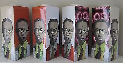 Fabienne Jouvin Paris Pop Art Pu Yi jar ceramic vase Tozai Home Modernist art