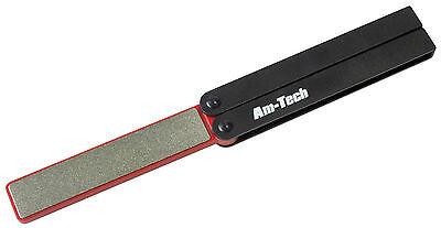 Double Sided Folding Diamond File Sharpener Knife Scissor Tool Sharpening AmTech