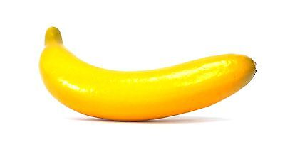Artificial Banana - Yellow Fruit Bananas Decorative Fake Plastic