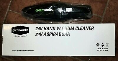 Greenworks BVU2410 24V Handheld Bagless Vacuum (No Battery/Charger) G24 for sale  Clearwater