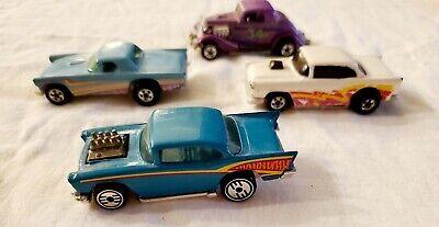 Hot wheels vintage - lot of 4