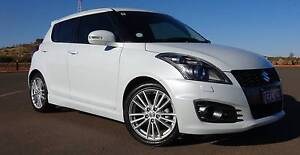 2013 Suzuki Swift Sport CVT Auto Pearl White 50,500kms. Perth Perth City Area Preview