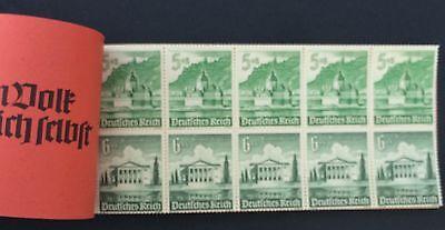 Deutsches Reich Postfrisch Mi.Nr. 47 Markenheftchen Winter HW 1941