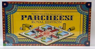 Parcheesi Royal Edition Board Game (New Factory Sealed)