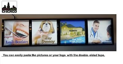 Store Front Window Signs. Business Light Box Signs-identification Signs
