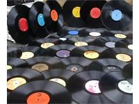 RECORDS WANTED VINYL LP's & 45's