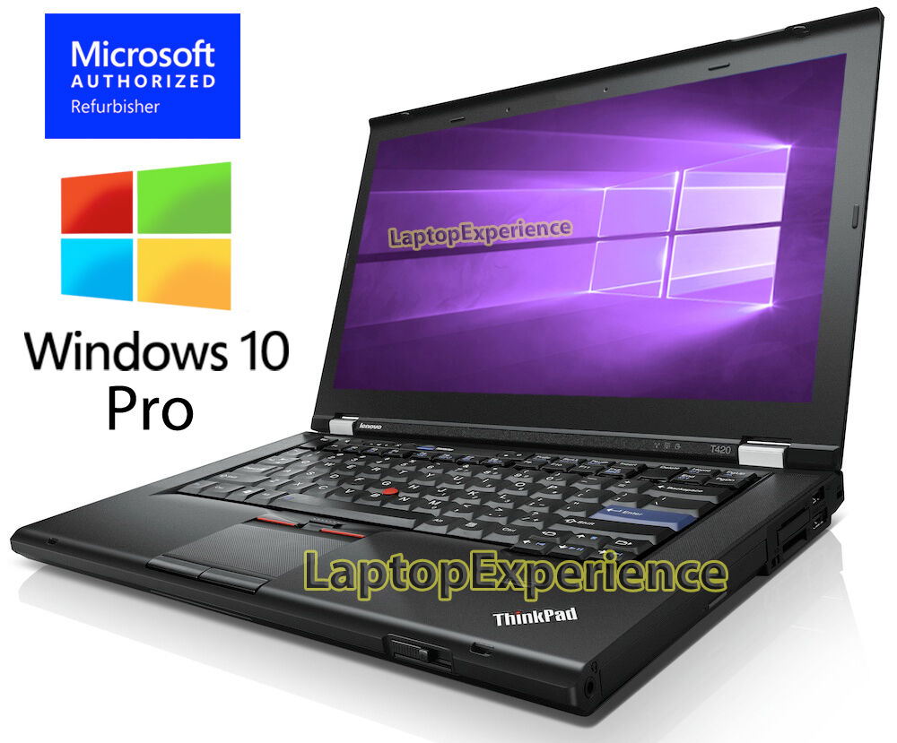 Laptop Windows - IBM LENOVO THINKPAD T420 LAPTOP i5 2.50ghz 8GB 120GB SSD DVDRW Windows 10 Pro PC