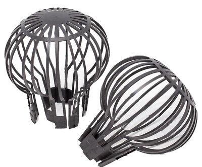 2x Dachrinnen Fallrohr Schutz Sieb Filter Laub Schutz Laubfanggitter Verschluss, gebraucht gebraucht kaufen  Neumünster