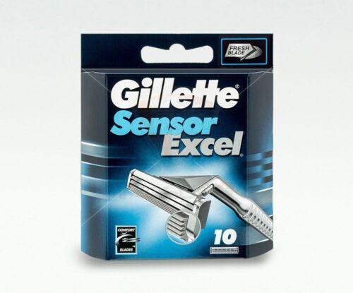 Gillette Sensor Excel Rasierklingen 10 Stück Original Ersatzklingen OVP