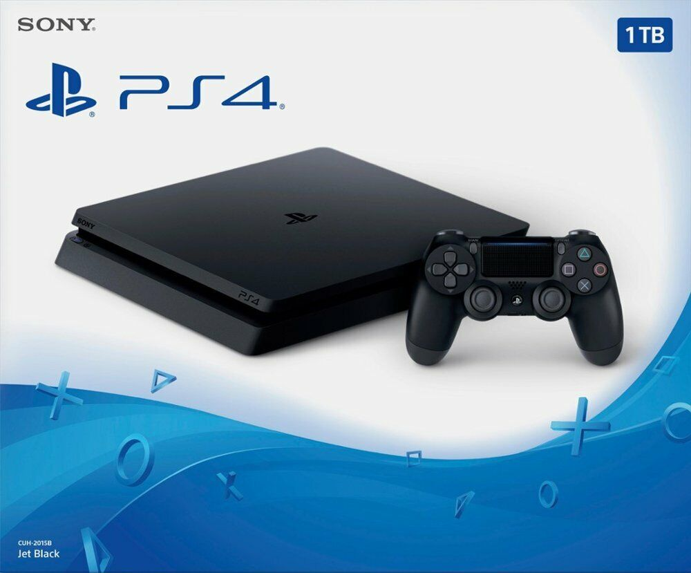 Brand New Sony PlayStation 4 1TB Console - Jet Black (SHIPS ASAP)