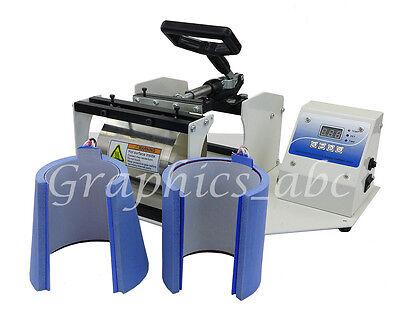 2 In 1 Mug Heat Press Sublimation Transfer Coffee Mug Latte Cup