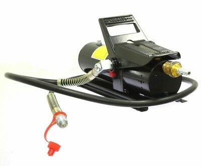 10000 Psi Porta Power Air Hydraulic Foot Pump Control Lift With 5 Feet Hose