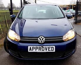 VOLKSWAGEN GOLF 1.6 MATCH TDI 5d 103 BHP Apply for finance Online (blue) 2011