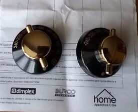Stoves New Home 1000 electric Range Oven Control Knobs