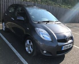 2010 Toyota Yaris 1.33 VVT-i TR 5-door *low mileage* *1 year's MOT* *£30 road tax*