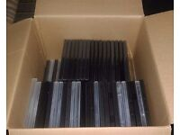 DVD Cases - 90+ Empty Blank Cases different types - FREE ON PICK UP