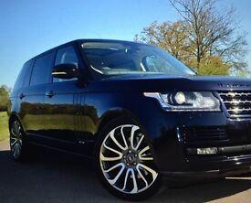 New Black Range Rover/ Autobiography 2016