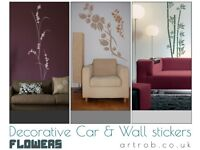 Decorative wall stickers - Flowers