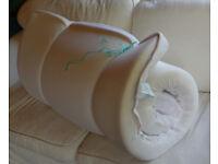 Memory foam mattress topper 90 x 200cm, ideal spare room, campervan etc
