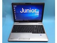 Toshiba Fast 4GB Ram, 320GB, HD Laptop, Win 10, HDMI, Microsoft office,Excellent Condition