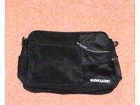 SUNGUARD document case - black - perfect condition. Cross body strap