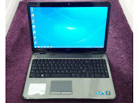 Dell 15R Laptop. Core i3, 8GB ram, Windows 7, HDMI, Wireless, Webcam, Charger, Great condition.