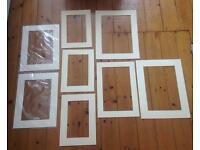 Collection of picture/ photo frame mounts