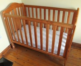 Mothercare Excellent Condition Cot bed and Mattress included