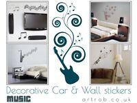 Decorative Wall MUSIC Stickers
