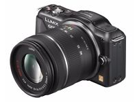 Panasonic Lumix GF5 micro four-thirds camera with interchangeable lens 14-42mm