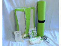 Wii Fit Plus with Balance Board, Instructions, Bag, Yoga Mat, And Socks