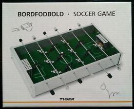 Bordfodbold Mini Table Football Game (as new)