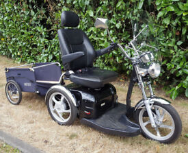 Sport Rider 8mph Mobility Scooter + Trailer FREE DELIVERY WITHIN 50 MILES